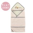 【愛的世界】小熊葉子三角帽抱巾+肚圍/粉葉-台灣製- ---用品推薦