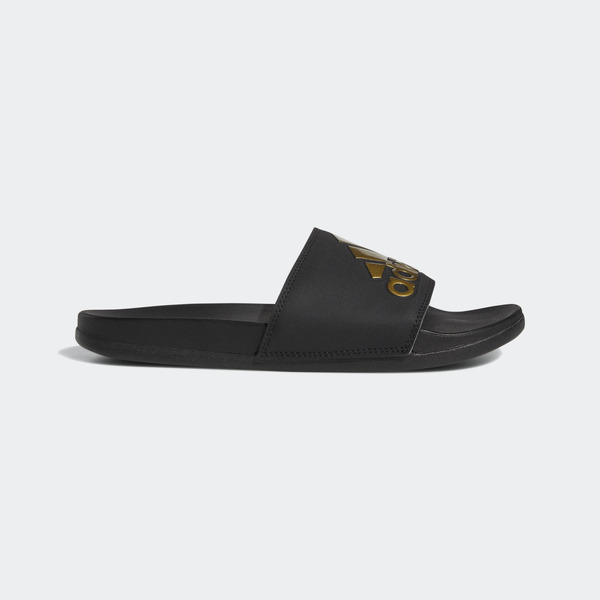 Adidas Adilette Comfort [EG1850] 男女 涼鞋 拖鞋 運動 休閒 時尚 經典 愛迪達 黑金