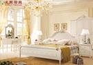 【大熊傢俱】2852 韓戀 韓式 五尺床 鄉村田園風 雙人床 床台 床架 雕花 歐式床 另售有六尺床