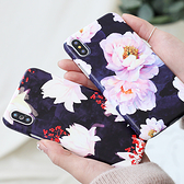 韓國 大理花 硬殼 手機殼│iPhone 6 6S 7 8 Plus X XS MAX XR 11 Pro LG G7 G8 V40 V50│ z8357