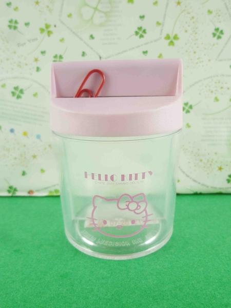 【震撼精品百貨】Hello Kitty 凱蒂貓~迴紋針盒-粉色