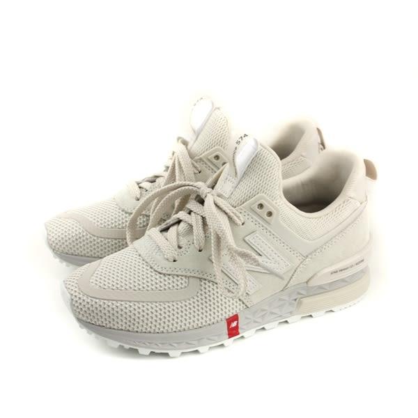 NEW BALANCE 574系列 復古鞋 運動鞋 米白色 女鞋 MS574UTS-D no493