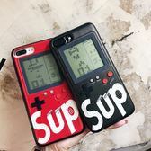 手機殼 抖音懷舊游戲機手機殼X蘋果7plus俄羅斯方塊iPhone8網紅ip6潮牌  coco衣巷