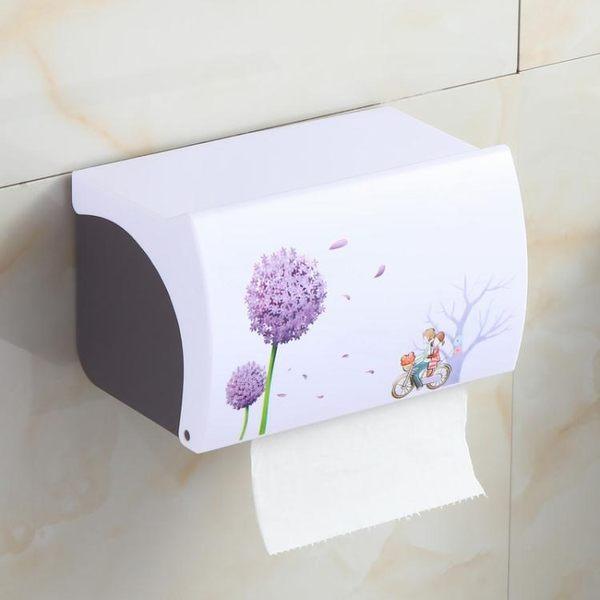 店慶優惠-廁所紙巾盒衛生間捲紙盒歐式創意紙巾架