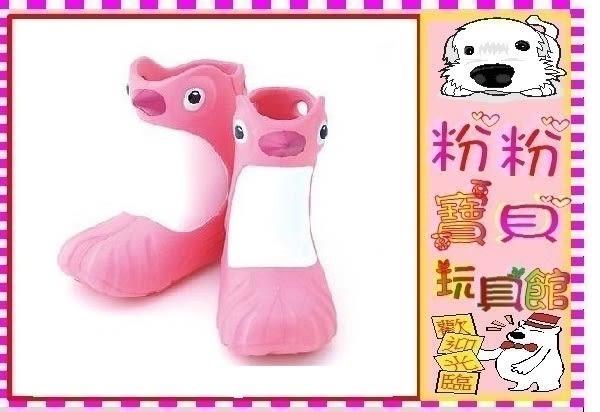 *粉粉寶貝玩具*Polliwalks童鞋-Penguin 粉紅企鵝-兒童兩用靴/雨靴