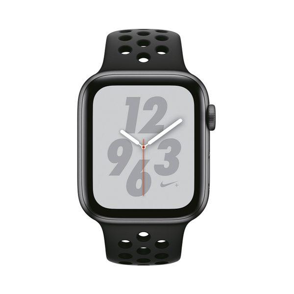 【新機上市】Apple Watch S4 LTE 44mm 太空灰色鋁金屬-Nike 運動型錶帶