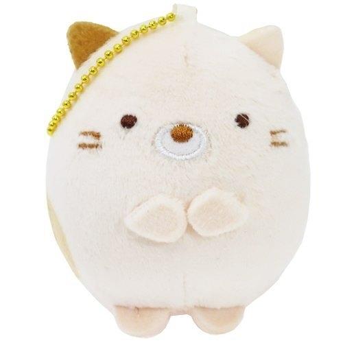 【角落生物 紓壓娃娃吊飾】角落生物 紓壓 捏捏 娃娃吊飾 貓咪 日本正版 該該貝比日本精品