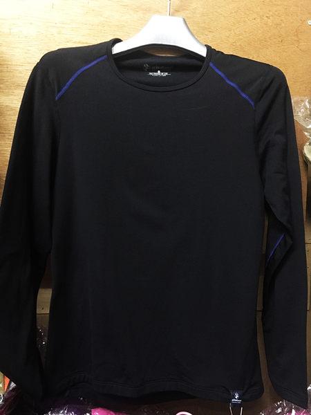 荒野Wildland品牌 輕量銀離子保暖衣 (0A22663-54 黑色) 女
