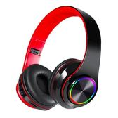 藍芽5.0炫光折疊耳罩耳機