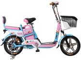 【AIMA 愛瑪】A+ 電動 48鉛酸 LED 輕便 後雙避震 腳踏助力(電動輔助自行車)