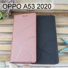 青春隱扣皮套 OPPO A53 2020 (6.5吋) 多夾層