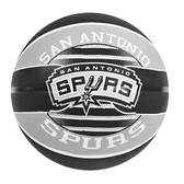 Spalding 17 -18 Spurs #7 [SPA83512] 籃球 7號 耐磨 橡膠 室外 馬刺 灰黑