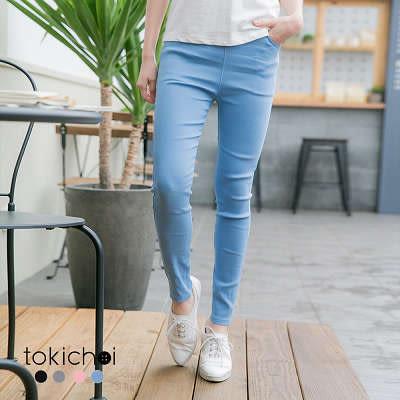 東京著衣-多色舒適超彈百搭色褲-S.M.L(180516)