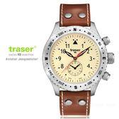 瑞士Traser Aviator Jungmann復古飛行員錶-(公司貨)#100 190/ 分期零利率