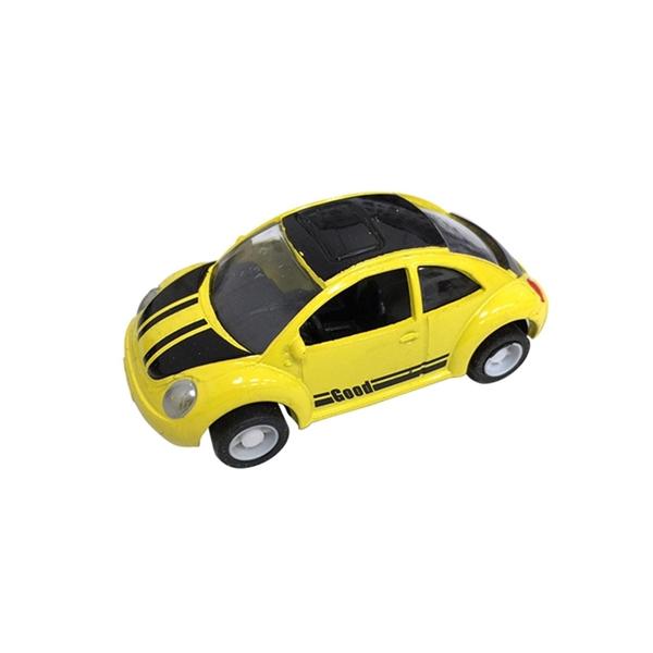 A&L奧麗迷你合金車 NO.63 金龜車 迴力車 跑車 復古車 模型車(1:64)【楚崴玩具】