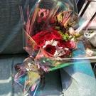 包花紙 幻彩膜鐳射玻璃紙彩虹膜鮮花花束禮品包裝紙新品材料花店節日用品 生活主義
