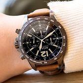 【人文行旅】Arioso | AR1705GUN 黑暗騎士時尚設計左款腕錶