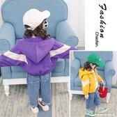 洋氣女童外套秋季新款運動服女寶寶夾克短外套韓版休閒上衣 【快速出貨】