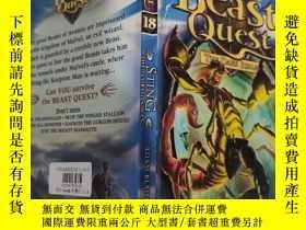 二手書博民逛書店beast罕見quest the dark realm 野獸探索黑暗王國.. .Y200392