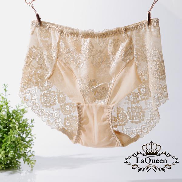 LaQueen 獨家柔軟100%蠶絲小褲(1802 膚)