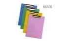 力大牌 ABEL 66105 A4彩色板夾(顏色隨機出貨) / 個