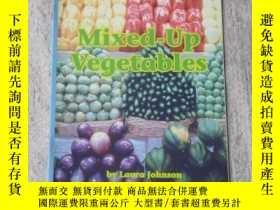 二手書博民逛書店Mixed-Up罕見Vegetables(Science )Y2