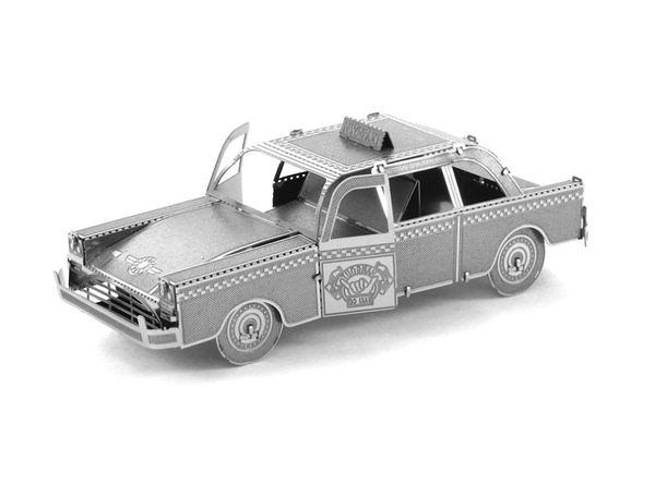 【Metallic nano puzzle 金屬拼圖】TMN-06 紐約黃包車