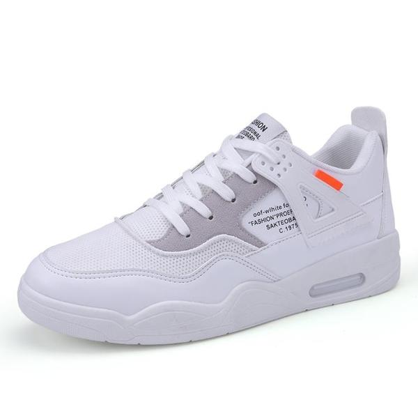 休閒鞋 男鞋 夏季 潮鞋 2020新款 夏天 運動 休閒 板鞋 男士 小白鞋 學生 百搭 網面鞋