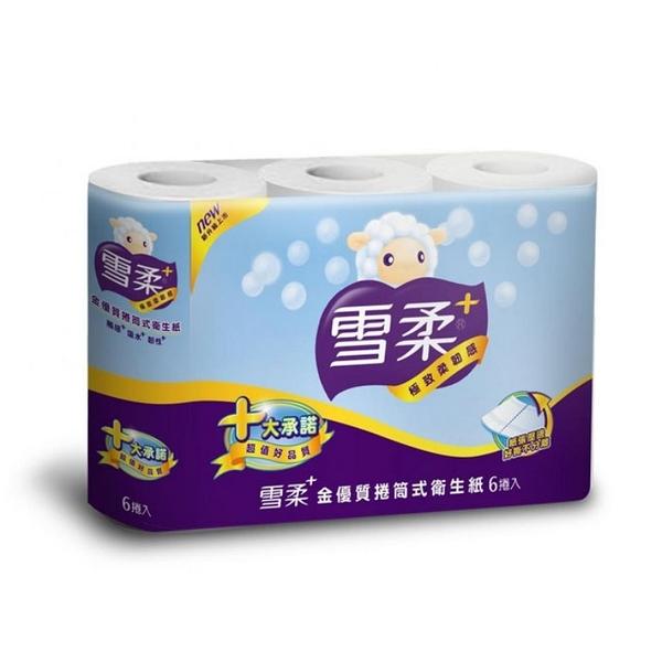 雪柔 金優質小捲筒衛生紙200組*6捲*10串/箱