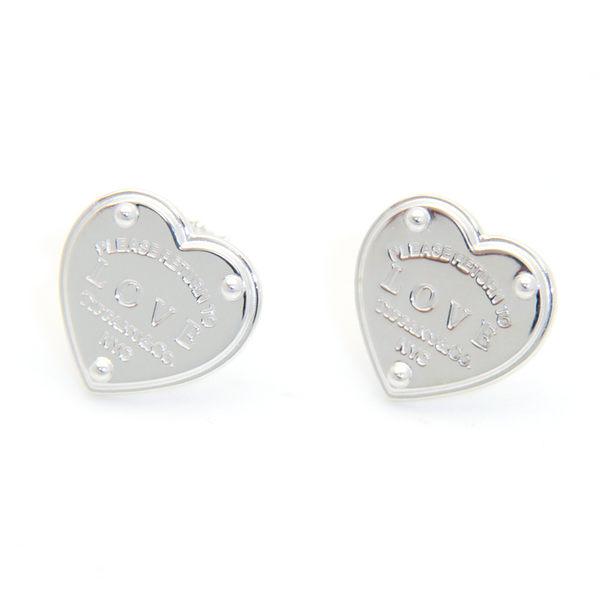 Tiffany & Co. Love 純銀耳環