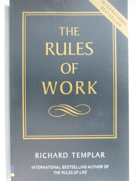 【書寶二手書T1/勵志_ACS】The Rules of Work: A Definitive Code for Personal Success