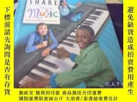 二手書博民逛書店Share罕見the music(分享音樂)樂譜英文原版Y187