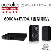 Audiolab 6000A 綜合擴大機 +Wharfedale EVO4.1【公司貨保固+免運】