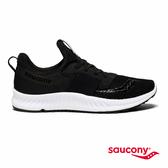 SAUCONY STRETCH N GO BREEZE 輕運動休閒鞋款-經典黑