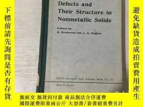 二手書博民逛書店Defects罕見and Their Structure in