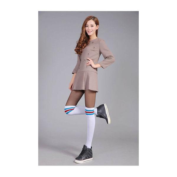 長筒襪 條紋 運動風 加厚 過膝襪 長筒襪【FS013】 ENTER  12/08