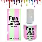 【美國原裝進口】Fun Color of Nailsart L-0006春夏光撩彩繪指甲油凝膠-15ml(21-40號) [48239]