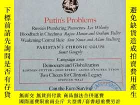 二手書博民逛書店Foreign罕見Affairs: May June 2000。