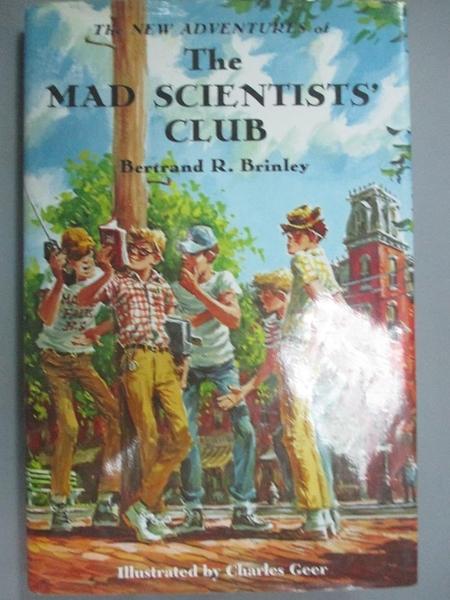 【書寶二手書T9/少年童書_NNZ】The New Adventures of the Mad Scientists'