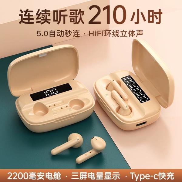 耳機真無線雙耳運動適用于蘋果oppo小米vivo華為iPhone半入耳式 遇见生活
