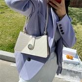 腋下包 鱷魚紋腋下包流行復古小包包女2020新款潮法式小眾設計時尚單肩包