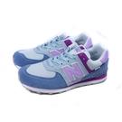 New Balance 574系列 運動鞋 跑鞋 粉藍/紫 大童 童鞋 GC574SL2-W no929