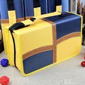 CD盒大容量滌綸布CD包音樂光盤收納包128片裝汽車碟片整理包防潮 電購3C