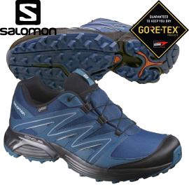 【SALOMON索羅門 男款XT CLCITA GORE-TEX 健野鞋《藍/海藍》】399679/健野鞋/跑步/運動鞋★滿額送