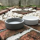(BEAGLE) 矮圓型創意水泥花盆(大) 多肉水泥花器/仙人掌水泥花盆/水泥植栽/水泥盆器-直徑:15公分