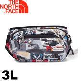 【The North Face 美國 3L 多功能腰包《卡通印花》】2UCX/運動腰包/隨身包/戶外健走★滿額送