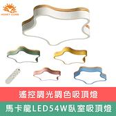 【Honey Comb】LED54W調光調色吸頂燈(V1930)粉色