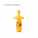 《 MARCUS&MARCUS 》360度矽膠固齒訓練牙刷-長頸鹿 / JOYBUS玩具百貨