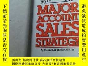 二手書博民逛書店Major罕見Account Sales Strategy 精裝Y12012 Neil、Joseph Mcgr