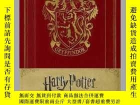 二手書博民逛書店Harry罕見Potter Gryffindor Hardcover Ruled JournalY410016